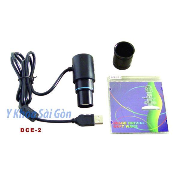 Camera gắn kính hiển vi DCE-2