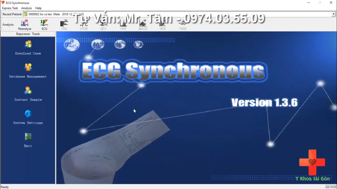 phần mềm ECG contec