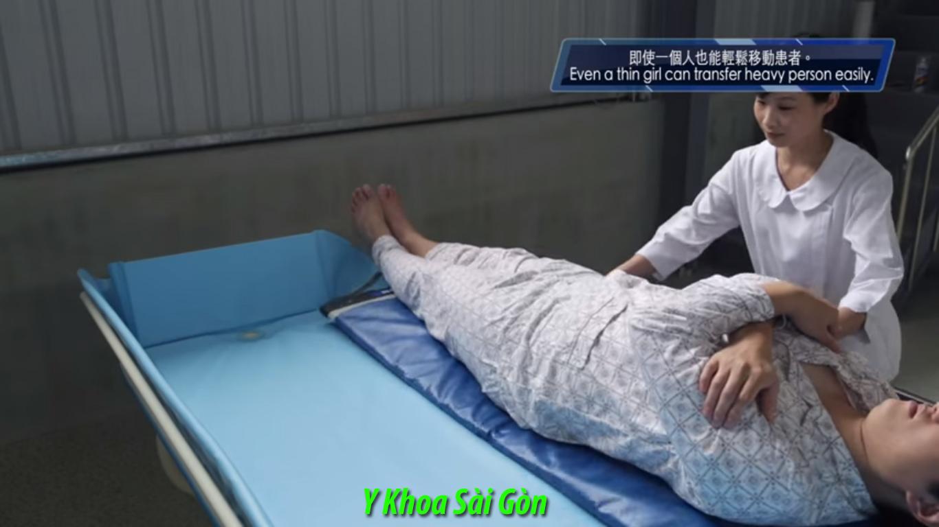 tấm trượt chuyển người bệnh