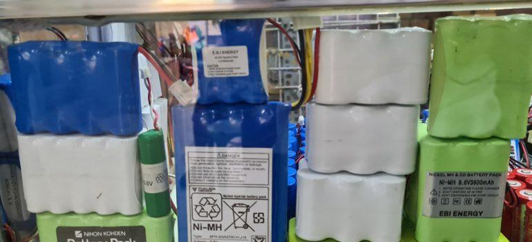 pin máy thiết bị y tế