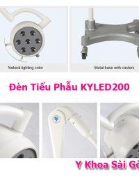 Đèn tiểu phẩu KYLED200